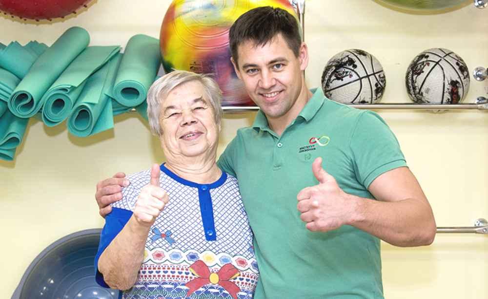 Валентина Прокофьева и инструктор Сергей Леньга